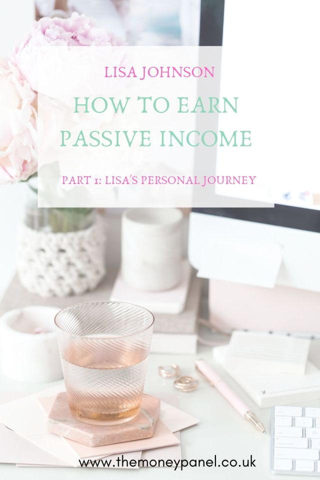 How to earn passive income with Lisa Johnson