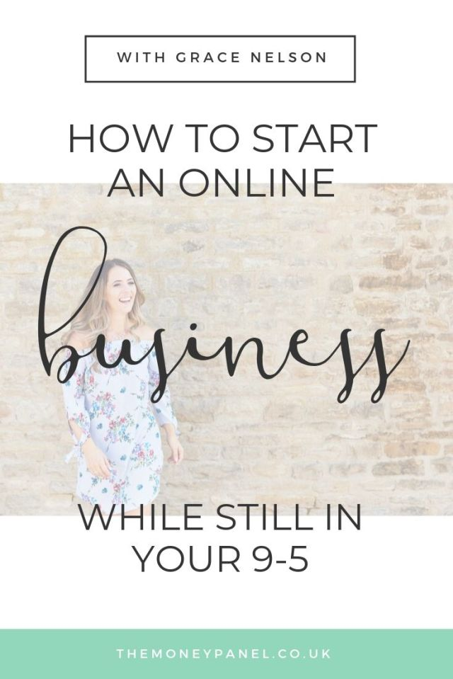 How to Start an Online Business while still in your 9 to 5 job, with Grace Nelson, co-founder of 1 Less Stress Connect