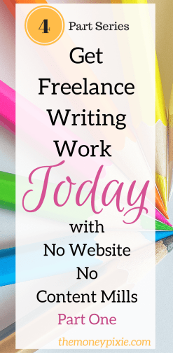 Freelance writing work
