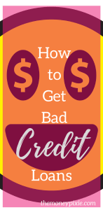 Quick bad credit loan