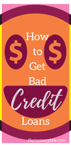 Quick bad credit loan