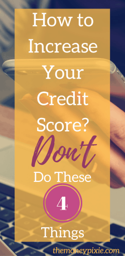 How to increase your credit score