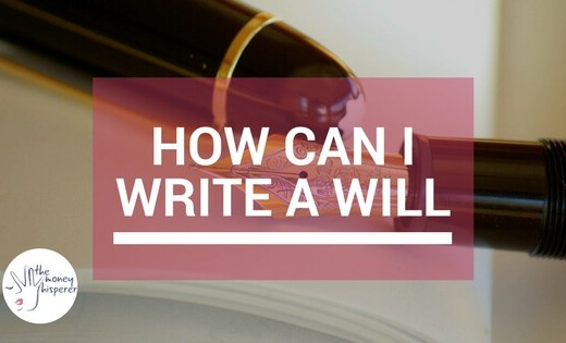 how can i write a will