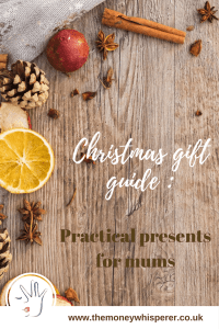 Christmas gift guide : practical presents for mums