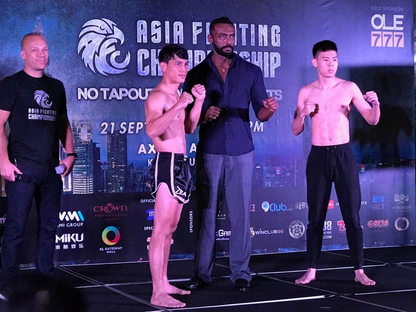 Kai Chai will face off against Korean Solbin Lee