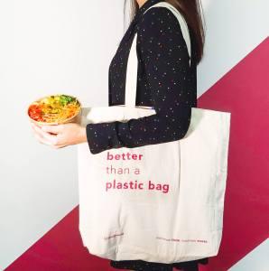 5. foodpanda - tote bag