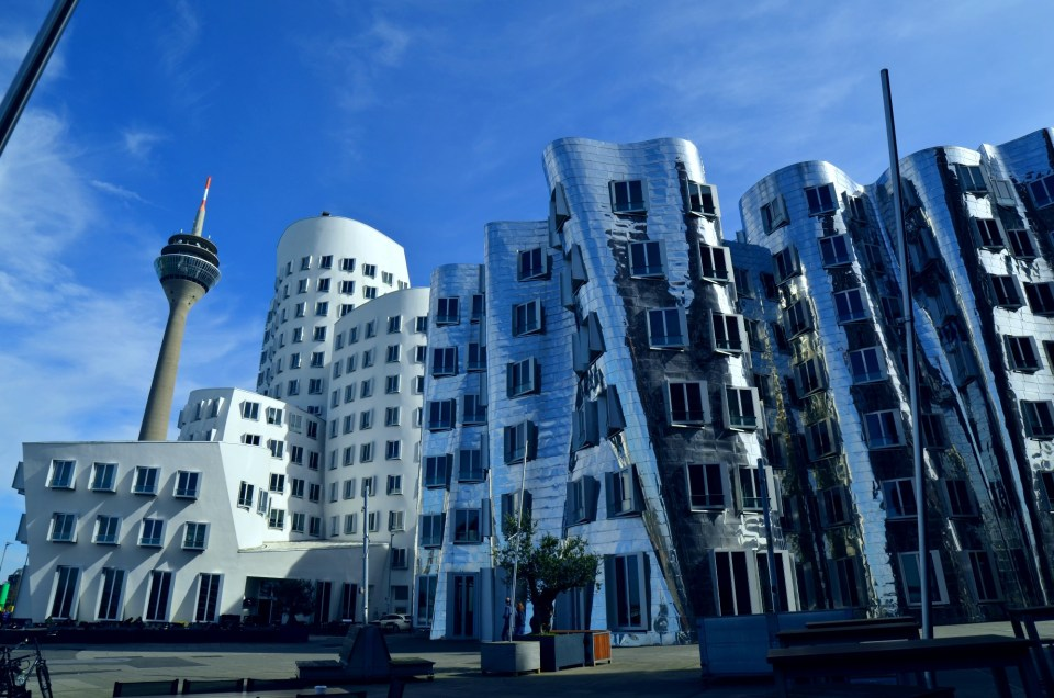 Düsseldorf- the city of famous architects