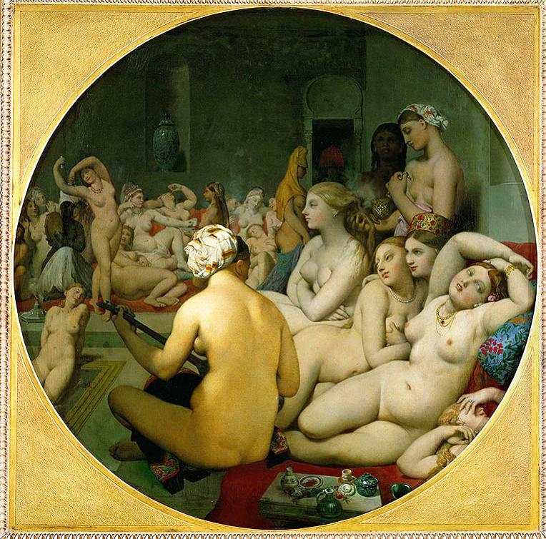 Ingres Turkish Bath