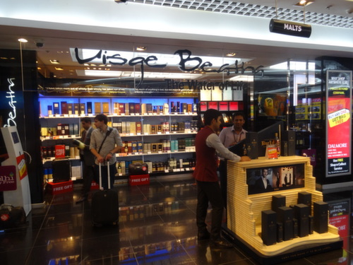 delhi airport whiskey
