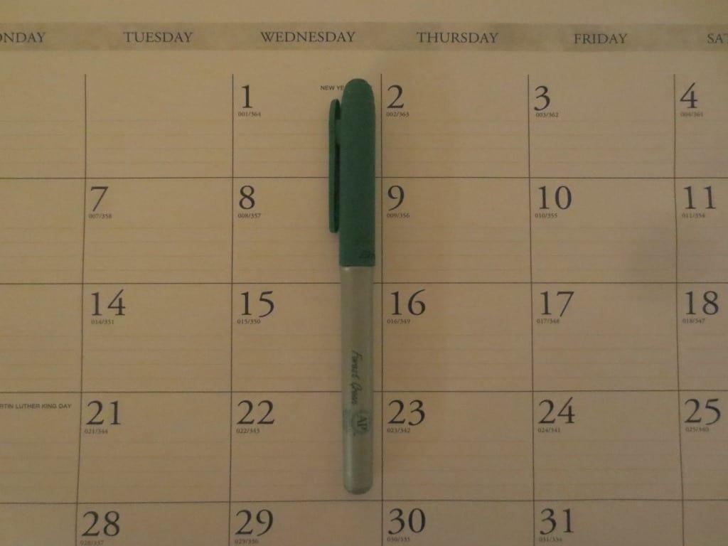 shoplet, house of dolittle, desk calendar
