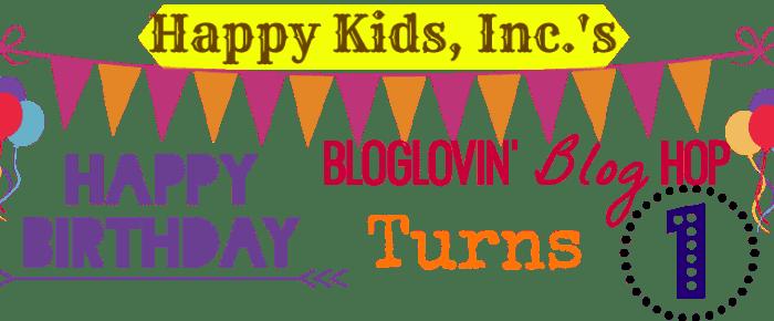 Happy Kids, Inc. Bloglovin Blog Hop #52 & Giveaway!!!