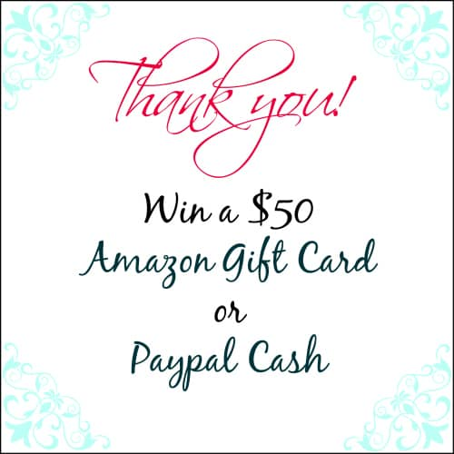 Win $50 Amazon or Paypal