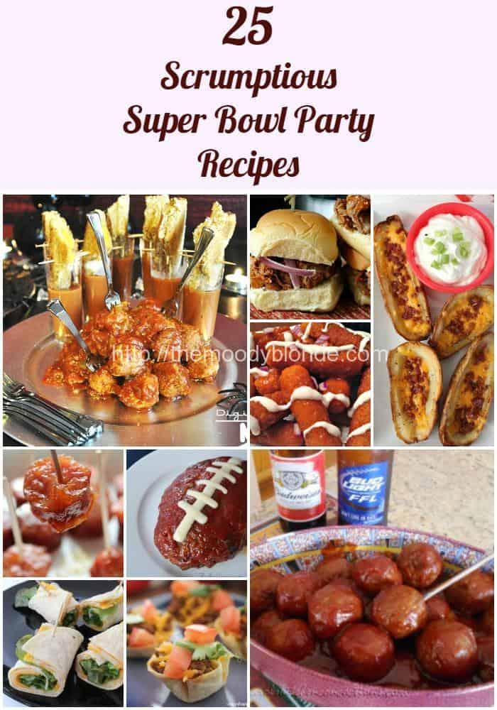 25 Scrumptious Super Bowl Party Recipes no url