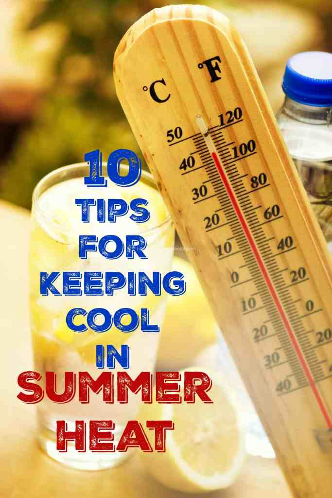 tips for keeping cool in summer heat