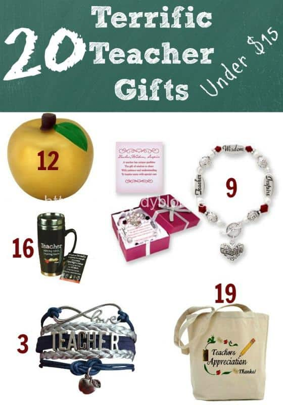 20 Terrific Teacher Gifts