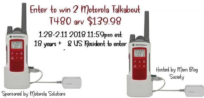 Giveaway: Motorola Talkout T480 2/11