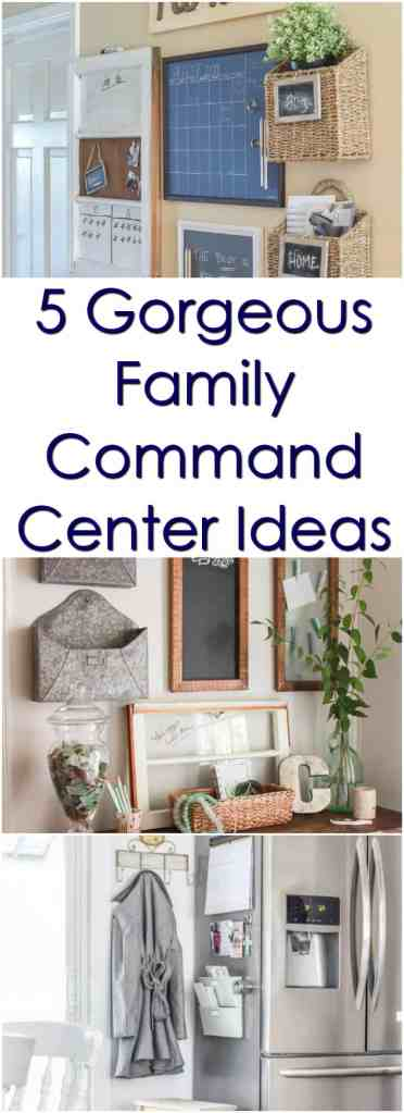 5 Gorgeous Family Command Centers to Get You Organized