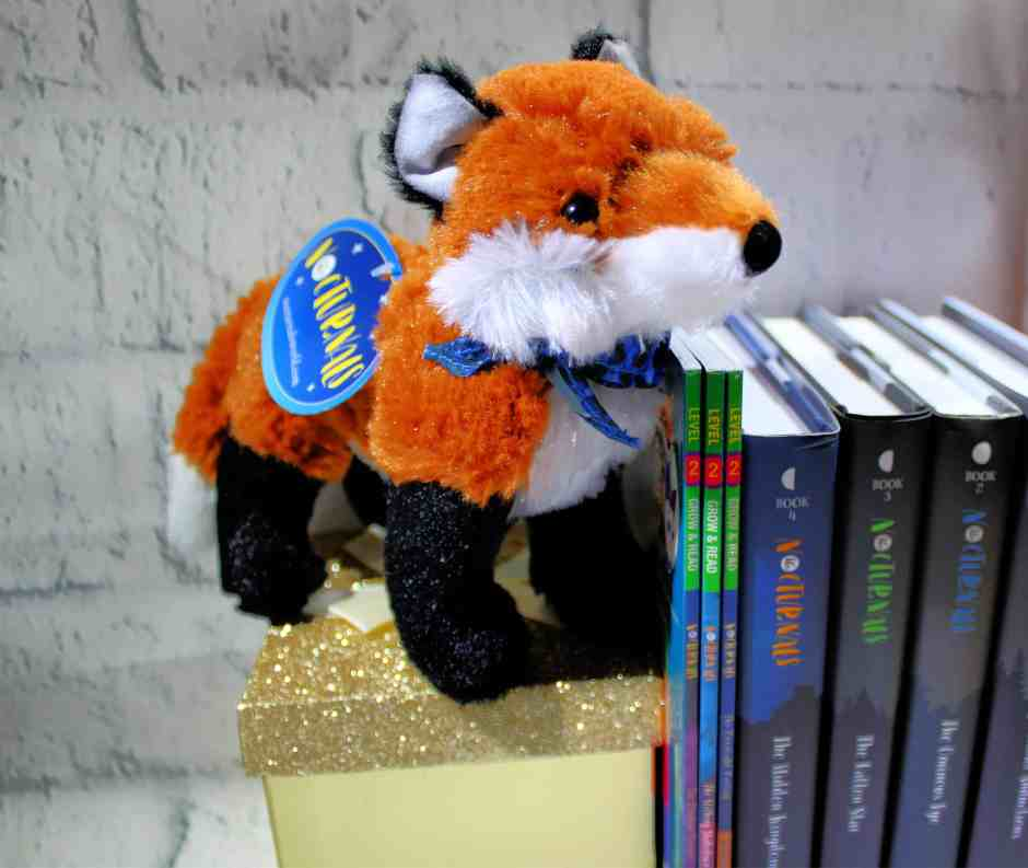 Dawn the Fox  stuffed animal from the Nocturnals series