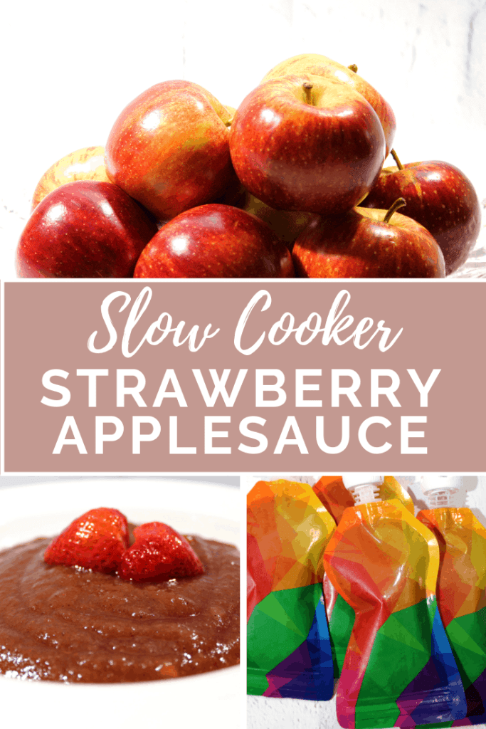 Pinterest Slow Cooker Strawberry Applesauce
