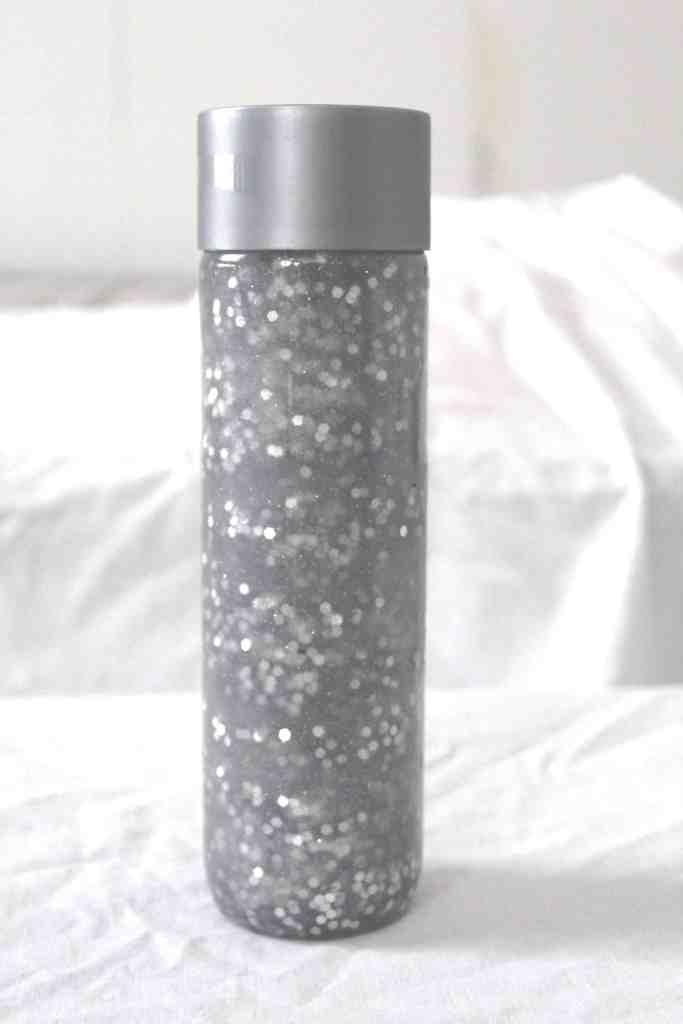 Silver Snow Sensory Bottle Finish