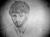 """""""Rob"""" - I tried to draw Ben Affleck from """"Argo"""" but kinda failed."""