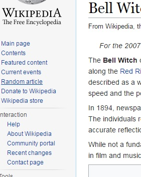 Wikipedia Random Article