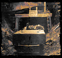Appalachian Coal Mine Car