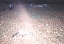 Ghost Light in Cumming, GA Cemetery