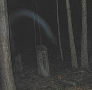 Ghost smoke in Monroe, GA cemetery