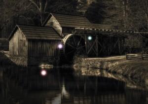 Spooky Mabry Mill