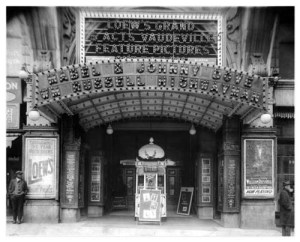 Loew's Grand Theater Entrance, Atlanta, Georgia