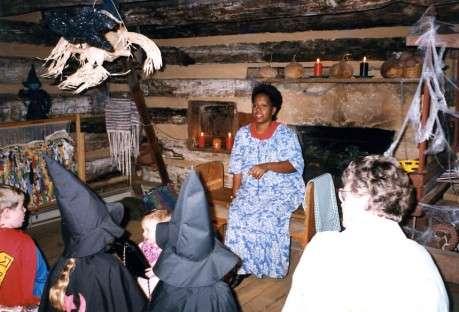 Storyteller Veronica Byrd at the Atlanta History Center