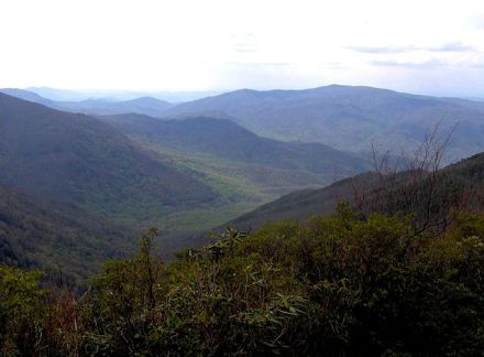 Sugarlands Great Smoky Mountains Tennessee