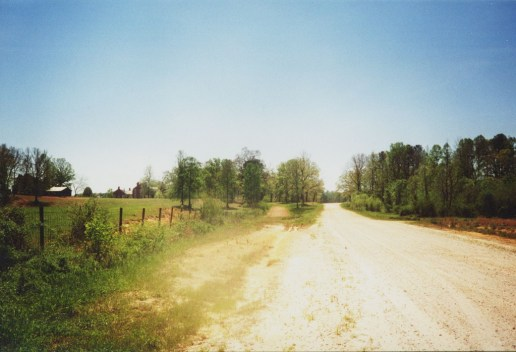Mississippi dirt road