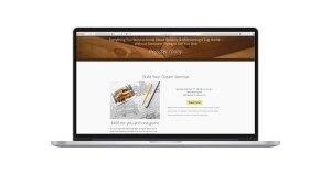 Design2Build Seminar Landing Page