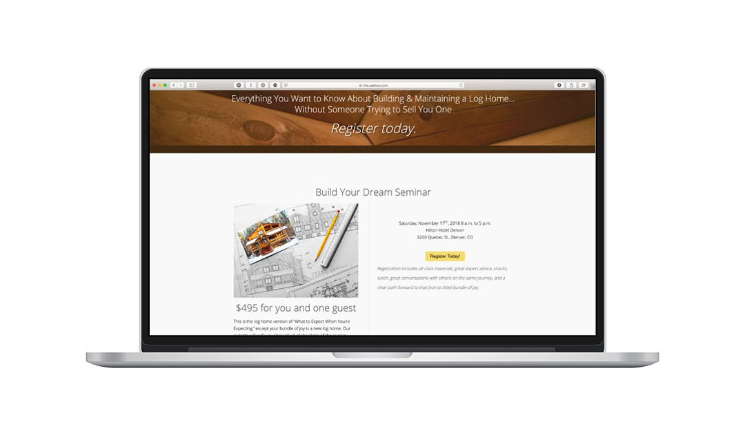 Design2Build Landing Page