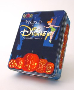 Large World of Disney Pumpkin Carving Kit