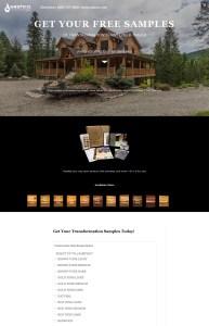 Sashco Transformation Stain Landing Page