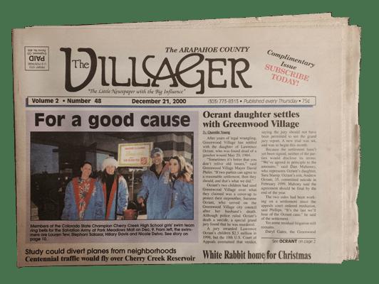 The Villager Newspaper, Greenwood Village