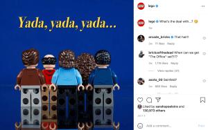 Lego Instagram Feed