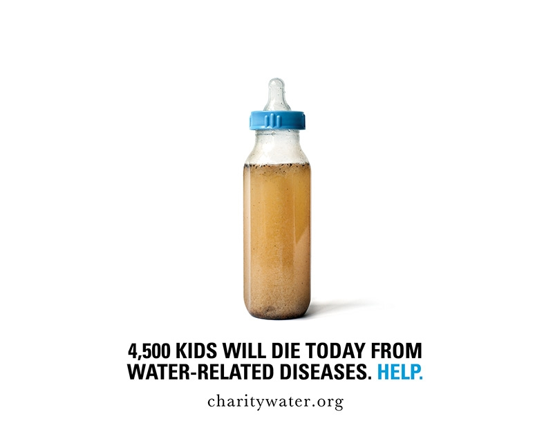 Charity Water Digital Marketing Campaign Example