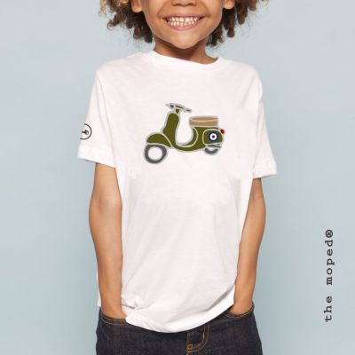 camiseta vespa kid