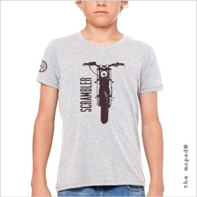 camiseta-gris-scrambler-moto-ducati-joven-kid-modelo-the-moped-brand