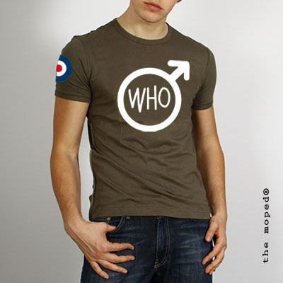 camiseta The Who-The Moped design