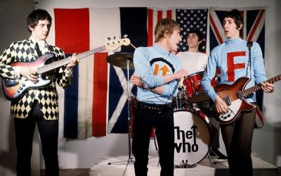 Camiseta THE WHO MOD – The Moped design