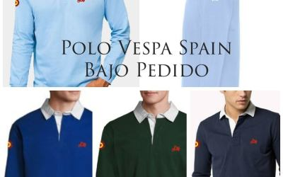 POLO RUGBY VESPA SPAIN