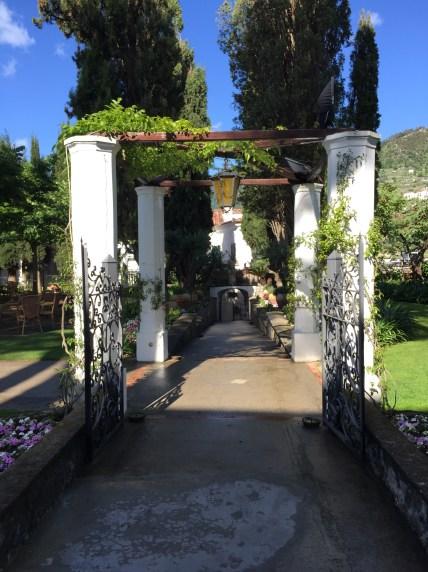 Walkway to Villa Eva