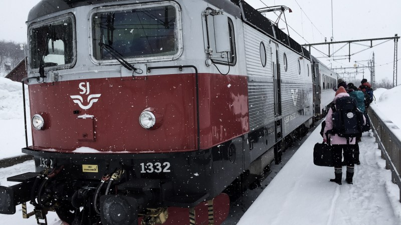 Journey to the Artic Circle: An Overnight Train Experience With A Syrian Refugee