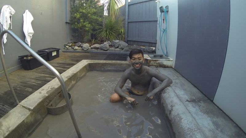 True Mud Therapy in Rotorua, New Zealand – Hells Gate Geothermal Park and Mud Bath Spa