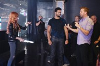 "SHADOWHUNTERS - ""The Mortal Cup"" - One young woman realizes how dark the city can really be when she learns the truth about her past in the series premiere of ""Shadowhunters"" on Tuesday, January 12th at 9:00 - 10:00 PM ET/PT. ABC Family is becoming Freeform in January 2016. Based on the bestselling young adult fantasy book series The Mortal Instruments by Cassandra Clare, ""Shadowhunters"" follows Clary Fray, who finds out on her birthday that she is not who she thinks she is but rather comes from a long line of Shadowhunters - human-angel hybrids who hunt down demons. Now thrown into the world of demon hunting after her mother is kidnapped, Clary must rely on the mysterious Jace and his fellow Shadowhunters Isabelle and Alec to navigate this new dark world. With her best friend Simon in tow, Clary must now live among faeries, warlocks, vampires and werewolves to find answers that could help her find her mother. Nothing is as it seems, including her close family friend Luke who knows more than he is letting on, as well as the enigmatic warlock Magnus Bane who could hold the key to unlocking Clary's past. (ABC Family/John Medland) KATHERINE MCNAMARA, MCG (DIRECTOR)"